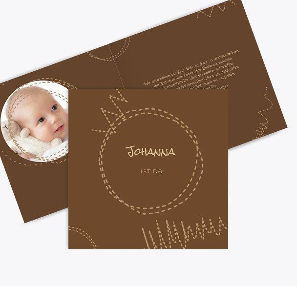 Geburtskarte Naht
