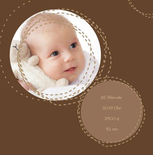 Ansicht 4 - Geburtskarte Naht