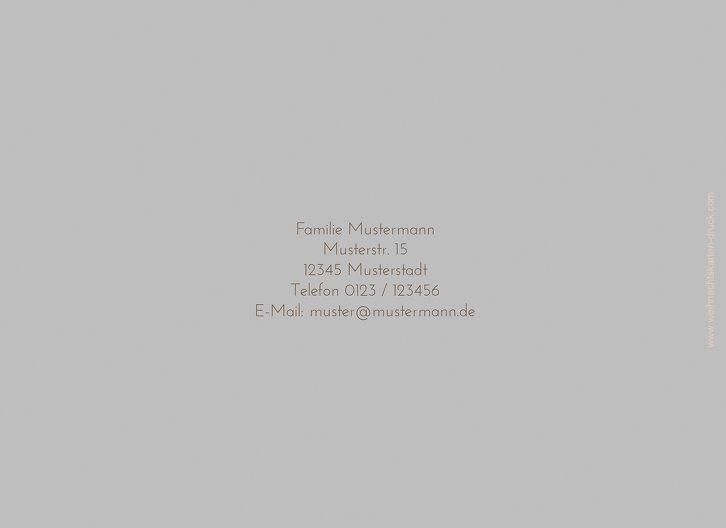 Ansicht 2 - Grußkarte Elch