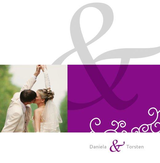 Ansicht 3 - Dankeskarte Band der Liebe