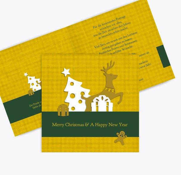 Grußkarte Geschenke