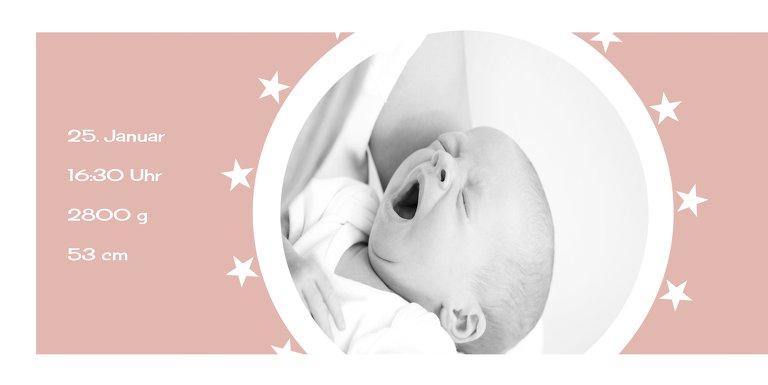 Ansicht 4 - Babykarte a new star
