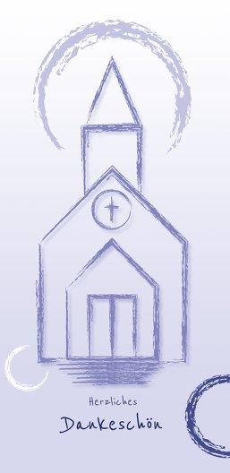 Ansicht 3 - Firmung Dankeskarte Kirche