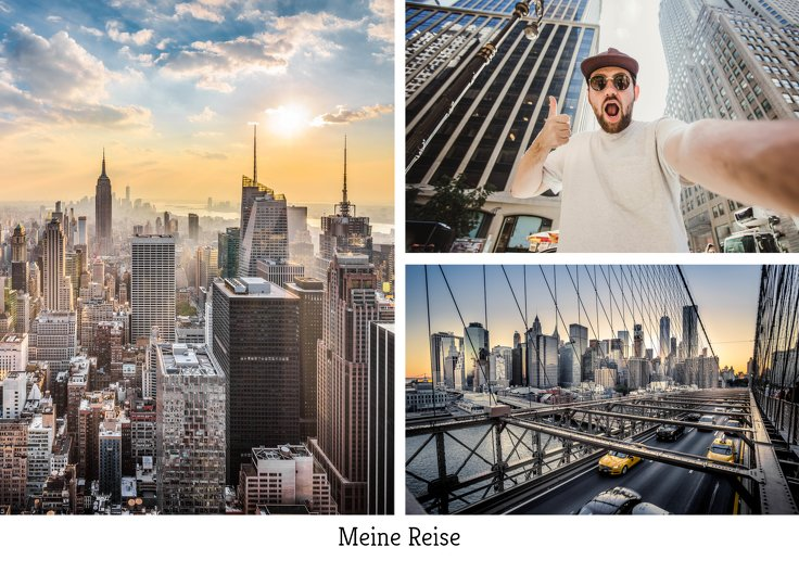 Ansicht 2 - Fotopostkarte Modern