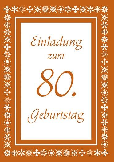 Ansicht 3 - Einladungskarte florale Elemente 80 Foto