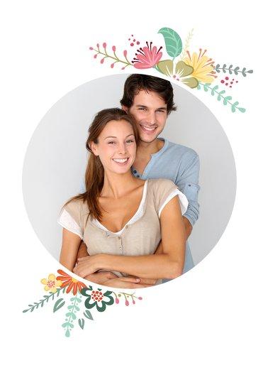 Ansicht 3 - Valentinskarte Blumenliebe