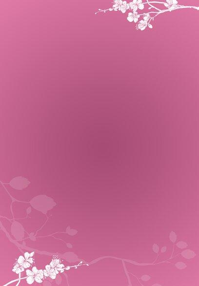 Ansicht 4 - Kirchenheft Umschlag Cherry Blossom