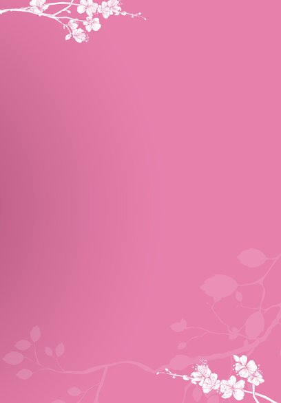 Ansicht 5 - Kirchenheft Umschlag Cherry Blossom