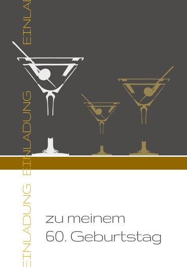 Ansicht 3 - Einladungskarten Martini Foto