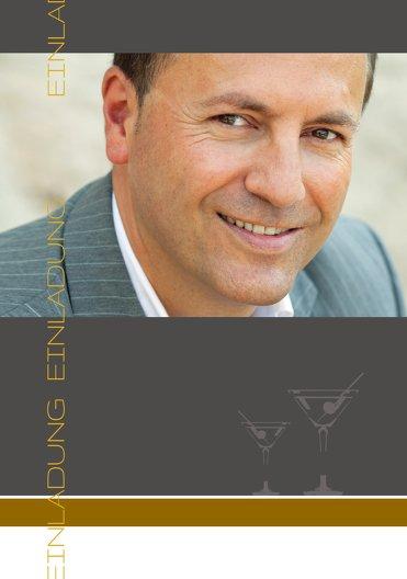 Ansicht 4 - Einladungskarten Martini Foto