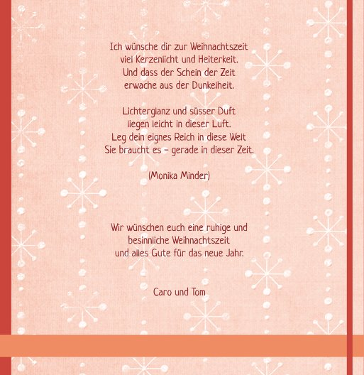Ansicht 6 - Foto Grußkarte Weihnachtszeit