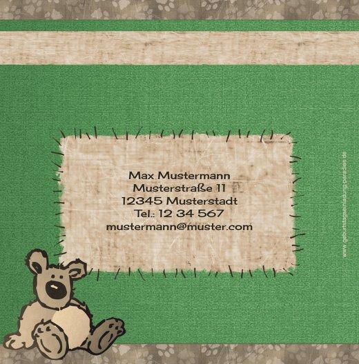 Ansicht 2 - Einladungskarte Kuschelbärchen Foto
