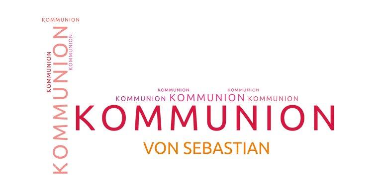 Ansicht 3 - Kommunionskarte Script