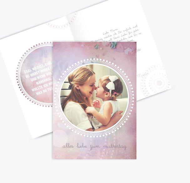 Muttertagskarte Bohemian