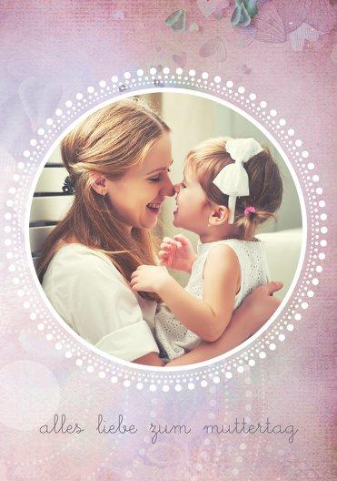 Ansicht 3 - Muttertagskarte Bohemian