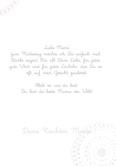 Ansicht 5 - Muttertagskarte Bohemian
