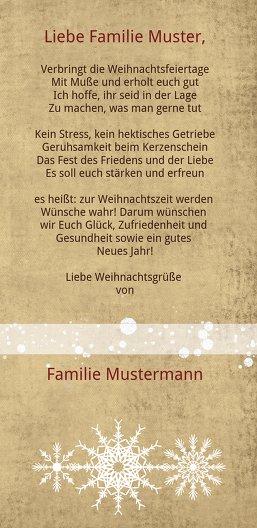 Ansicht 5 - Foto Grußkarte Hirschkopf