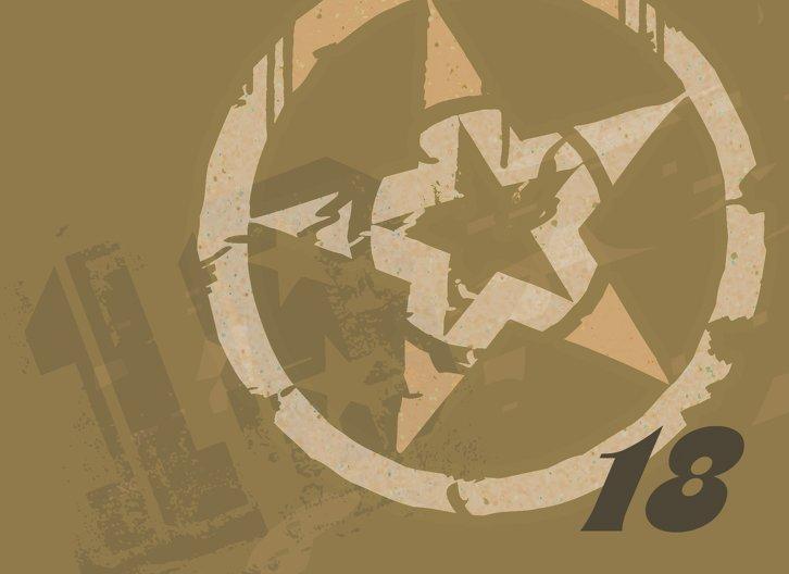 Ansicht 4 - Karten zum 18. Geburtstag Star Style 18
