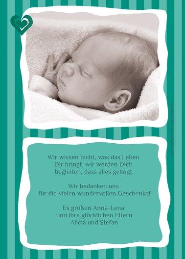 Ansicht 3 - Babykarte Harmonie