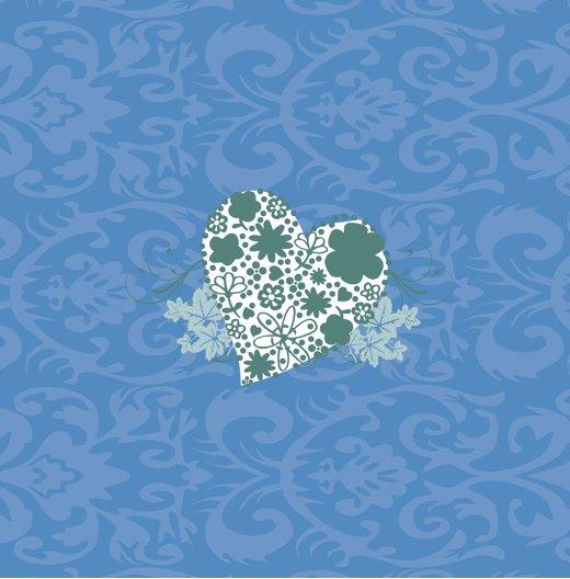 Ansicht 2 - Tauf Dankeskarte Kreise