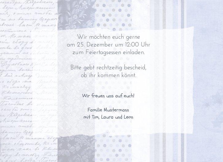 Ansicht 5 - Foto Einladung Geschenkpapier