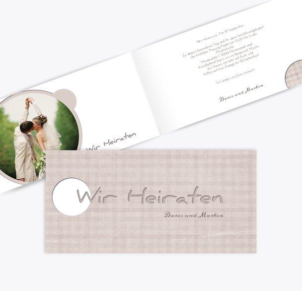 Hochzeit Einladung wedding harmony