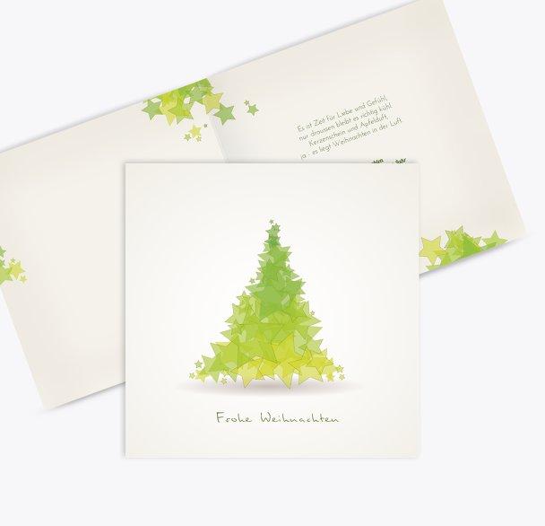 Grußkarte Designerbaum
