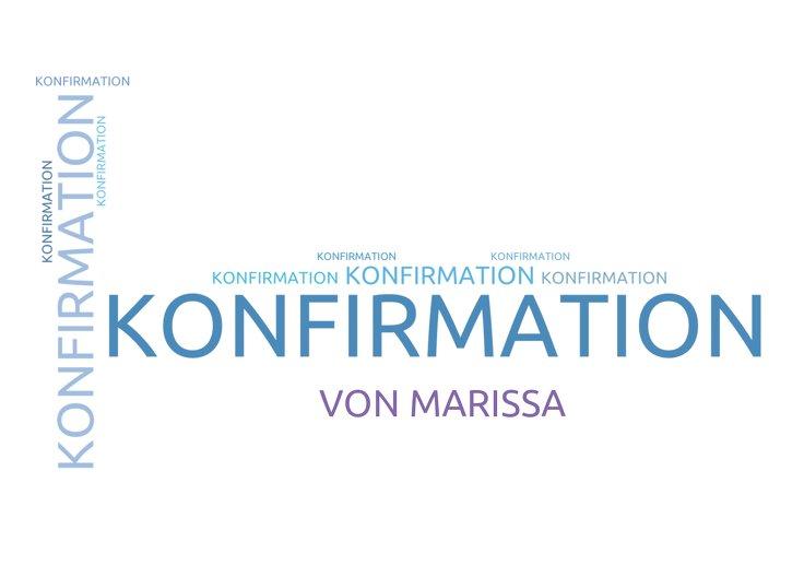 Ansicht 2 - Einladungskarte zur Konfirmation Script