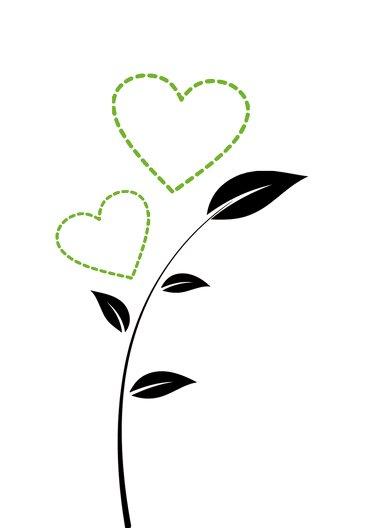 Ansicht 5 - Hochzeit Einladung Herzblume