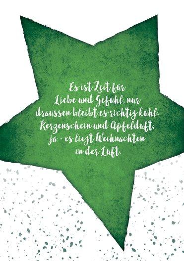 Ansicht 4 - Weihnachtseinladung Letterbaum