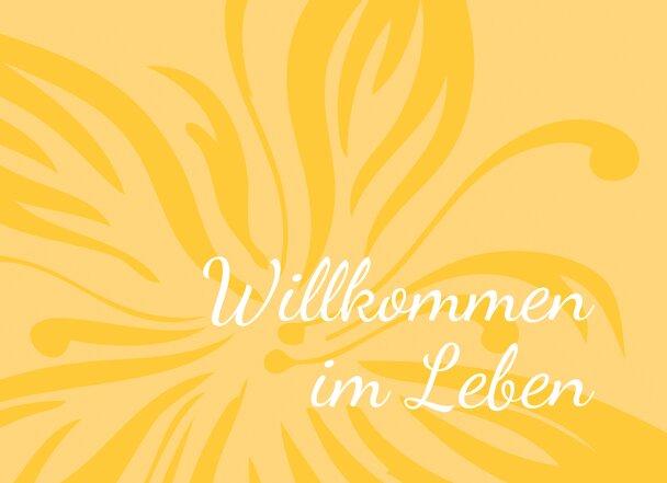 Ansicht 4 - Babykarte Blume