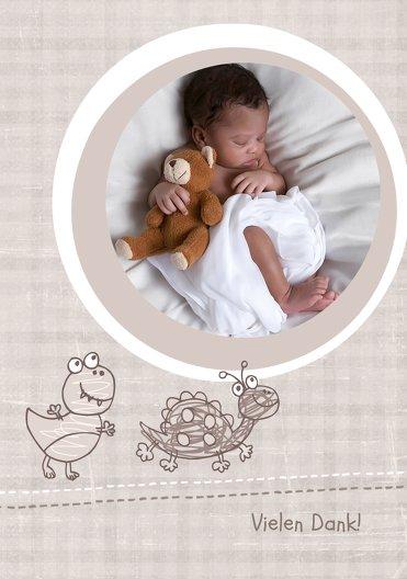 Ansicht 3 - Baby Dankeskarte Schildi