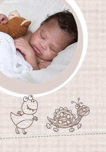 Ansicht 4 - Baby Dankeskarte Schildi