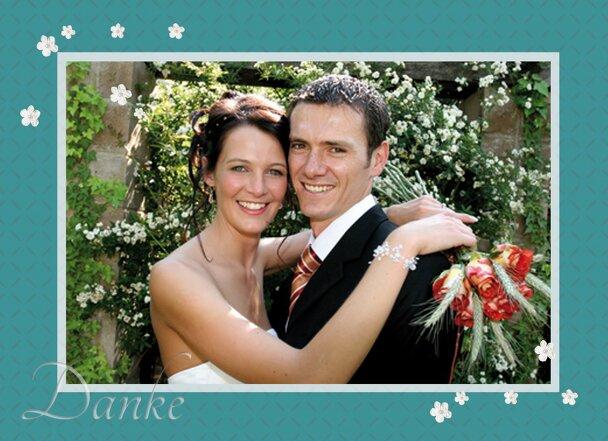 Ansicht 4 - Hochzeit Dankeskarte romantic flower