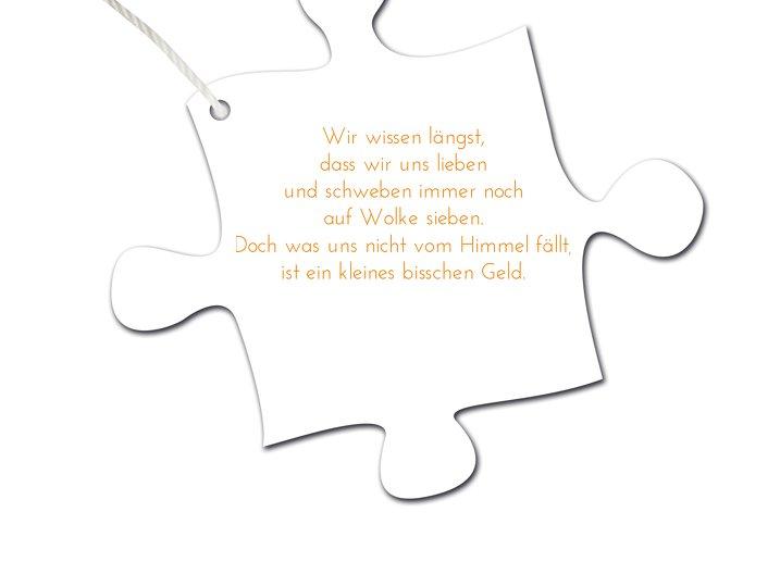 Ansicht 6 - Hochzeit Einladung Puzzleteile 2