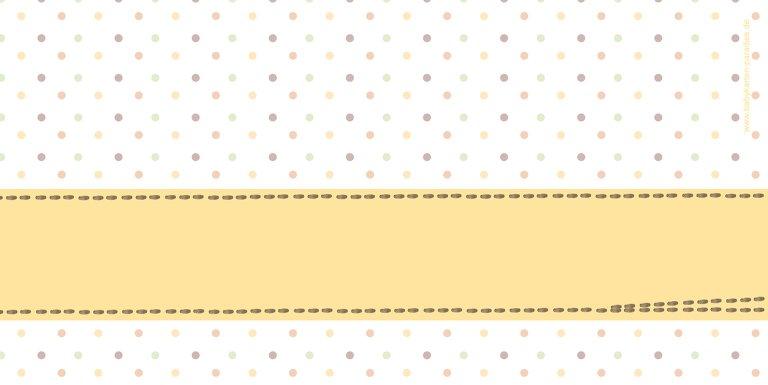 Ansicht 2 - Babykarte Pünktchen