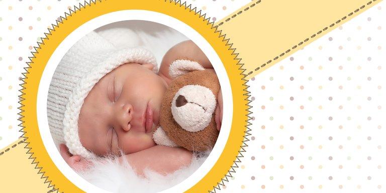 Ansicht 4 - Babykarte Pünktchen