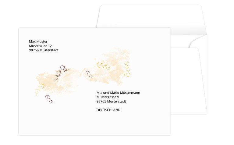 Umschlag Blattkreis