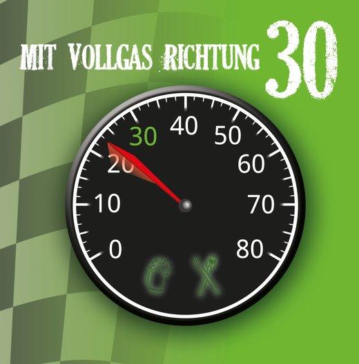Ansicht 3 - Geburtstagseinladung Vollgas 30