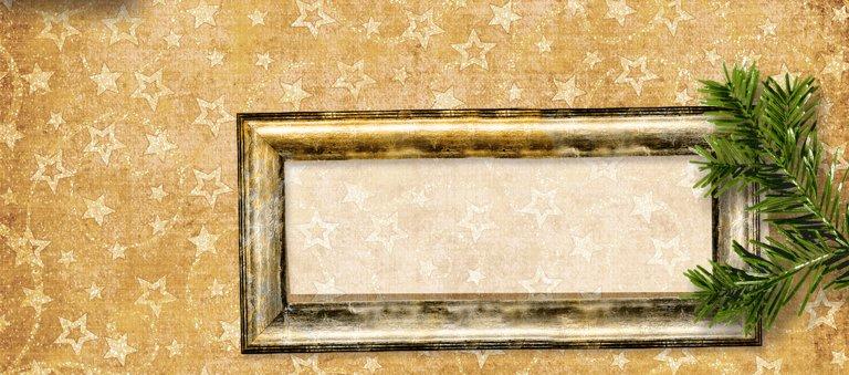 Ansicht 3 - Tischkarte Goldenes Geschenk