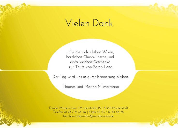 Ansicht 3 - Taufe Dankes Neu Barock