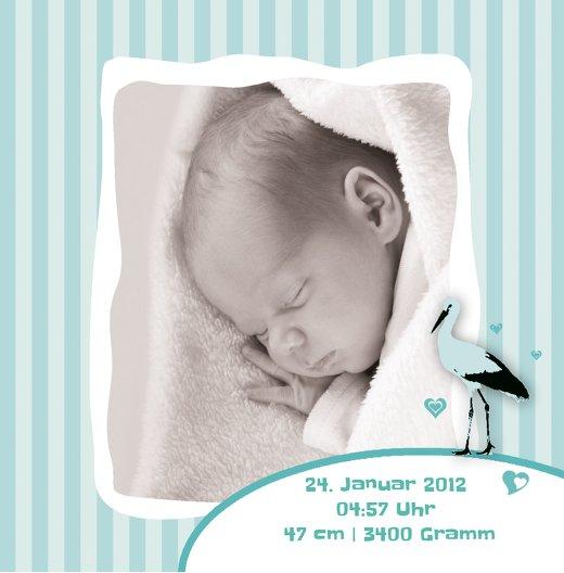 Ansicht 7 - Baby Dankeskarte Harmonie