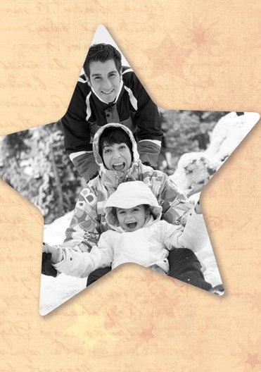 Ansicht 4 - Foto Grußkarte Sternengrund