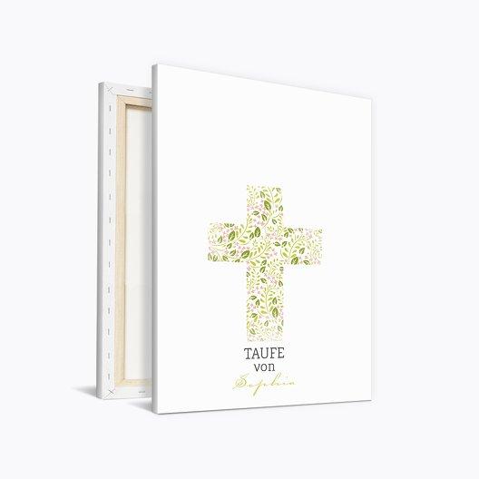Fingerabdruck Leinwand Kreuz