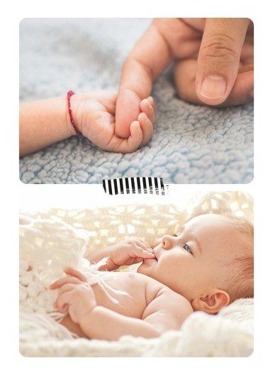 Ansicht 4 - Baby Dankeskarte Häuschen