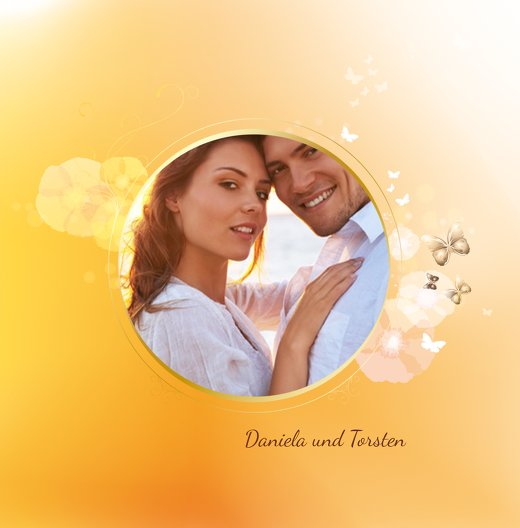 Ansicht 5 - Hochzeit Einladung Liebeszauber