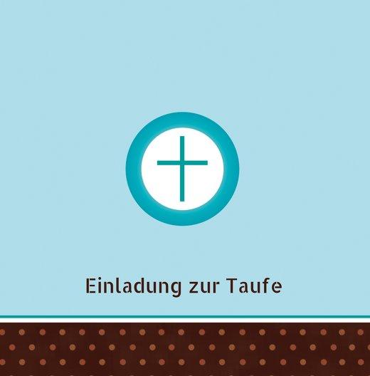 Ansicht 3 - Taufkarte Kreuzhostie