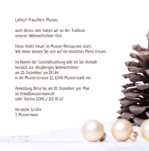 Ansicht 5 - Einladung Weihnachtsengel