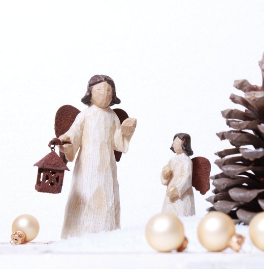 Ansicht 3 - Foto Einladung Weihnachtsengel