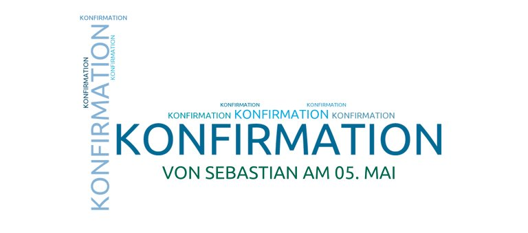 Ansicht 3 - Konfirmation Tischkarte Script